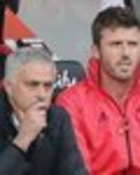 how jose mourinho treated michael carrick in final weeks at man utd - fans won't like this