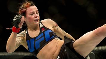 UFC's Joanne 'JoJo' Calderwood on love, Thanksgiving & world titles