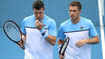 Australian Open 2019: Britain's Neal & Ken Skupski lose in men's doubles