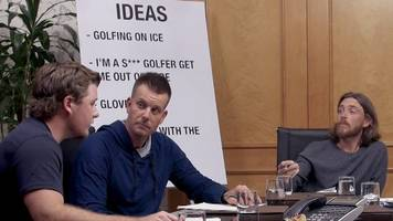 tommy fleetwood, lee westwood, henrik stenson & thomas bjorn star in comedy golf sketch