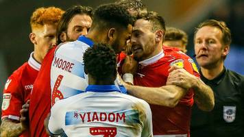 reading and nottingham forest fined by fa after melee