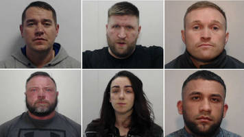 drugs gang jailed as police seize cocaine, heroin and mdma worth £2.7m