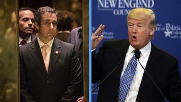 report says trump instructed michael cohen to lie to congress