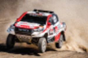 Toyota Hilux driven to 2019 Dakar Rally victory