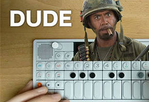 Synth Musician Takes a Famous Tropic Thunder Line to Another Level