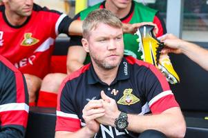 where grant mccann says doncaster albion v burton albion will be won and lost