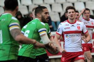 Toronto Wolfpack promise a step up in intensity says Hull KR's Ryan Shaw