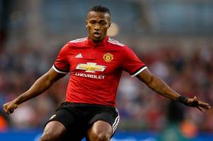 manchester united battle chelsea and manchester city over antonio valencia replacement; liverpool fight german interest over rising star; tottenham hotspur fear over christian eriksen