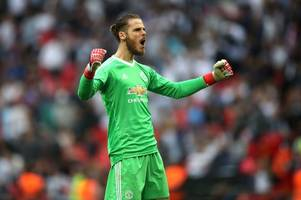 manchester united handed massive de gea boost; liverpool line-up huge serie a striker; manchester city dealt big transfer blow