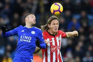 claude puel responds to accusations jamie vardy dived against southampton