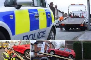 fly-tipping suspect's car seized after crime crackdown on dumping
