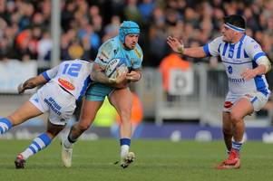 exeter chiefs' jack nowell could play at flanker for england's six nations clash with ireland