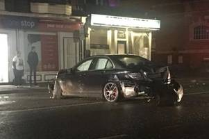 Driver who crashed Mercedes into this Chinese restaurant in Lincoln as people were inside is finally named and punished