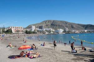 tenerife earthquake: atlantic ocean hit by quake near popular tourist resort