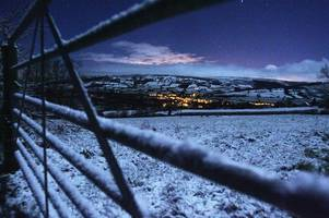 sussex weather: february's 12 days of snow predicted for brighton, east grinstead, bexhill and hastings