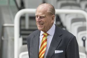 Britain's Prince Philip, 97, Unhurt After Rolling His Land Rover