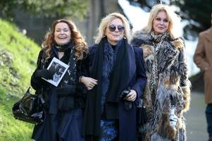 Absolutely Fabulous stars say goodbye at 'touching' June Whitfield funeral