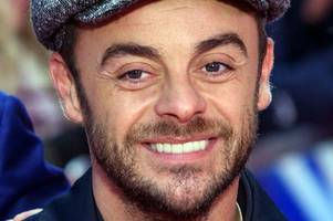 ant mcpartlin returns to work on britain's got talent today