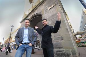 x factor stars the macdonald brothers prepare for ayr homecoming gig
