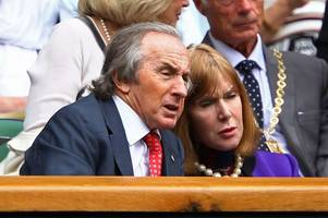 sir jackie stewart says wife's dementia battle is one of his 'biggest challenges'