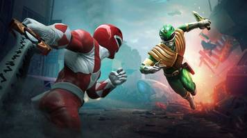 the power rangers are getting their own fighting game