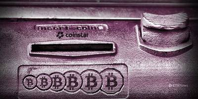 you can buy bitcoin at coinstar now, but not with coins