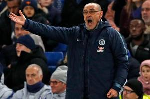 sarri transcript: every word from chelsea boss on arsenal, higuain, hudson-odoi, bielsa & more