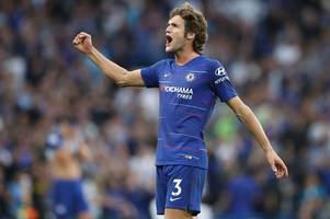 the chelsea tactic maurizio sarri has worked on with marcos alonso ahead of arsenal clash