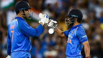 australia v india: ms dhoni half-century guides tourists to odi series win