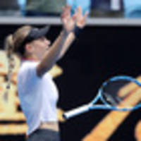 tennis: teen impresses on her way to last 16