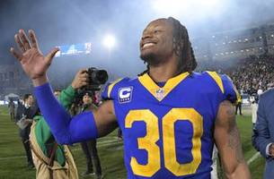 healthy rams look to alter nfl with win over banged up saints