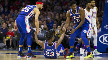 the sixers' big three are finding their rhythm, building chemistry at just the right time