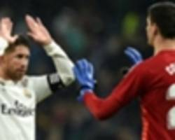 Ramos relieved to send Real Madrid fans home happy after much-needed win