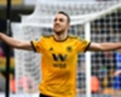 wolves 4 leicester city 3: jota hat-trick drama piles pressure on puel