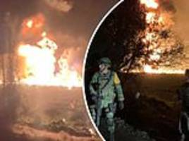 At least 20 dead and 60 burned in central Mexico fuel pipeline explosion caused by gasoline thieves