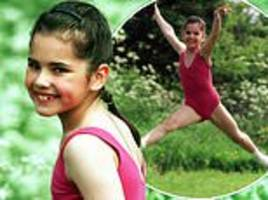 cheryl is every inch the baby-faced dancer in throwback childhood snaps