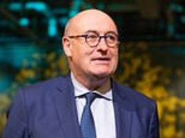 Ireland's EU Commissioner Phil Hogan attacks PM Theresa May and her 'toxic' Brexiteers