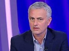 mourinho bemoans lack of transfer backing at manchester united