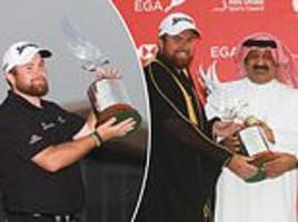 shane lowry wins abu dhabi hsbc championship after thrilling final round battle with richard sterne