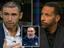 under-fire maurizio sarri questioned over rant by martin keown