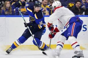 blues place sanford on ir with upper-body injury