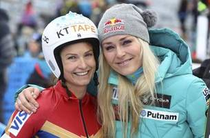 after hip replacement, mancuso encourages vonn and murray