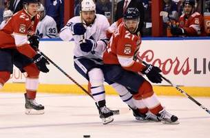 vincent trocheck makes return to panthers' lineup vs. maple leafs after missing nearly 2 months