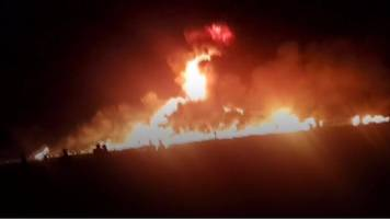 Mexico oil pipeline explosion kills and injures dozens