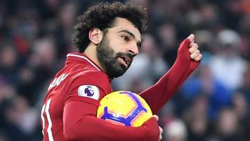 liverpool 4-3 crystal palace: mohamed salah double as reds edge thriller