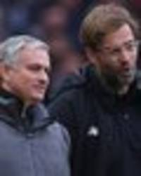 axed man utd boss jose mourinho's savage jurgen klopp putdown sends twitter into meltdown