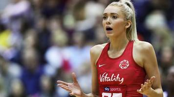 netball international quad series: england beaten by south africa in london