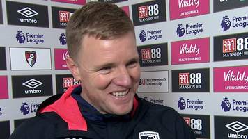 bournemouth 2-0 west ham: cherries players got their reward - eddie howe