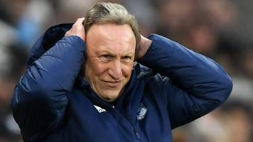 newcastle 3-0 cardiff: defeat not the end of the world - warnock