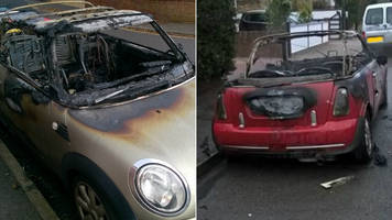 cctv of southampton mini cooper arsons suspect released